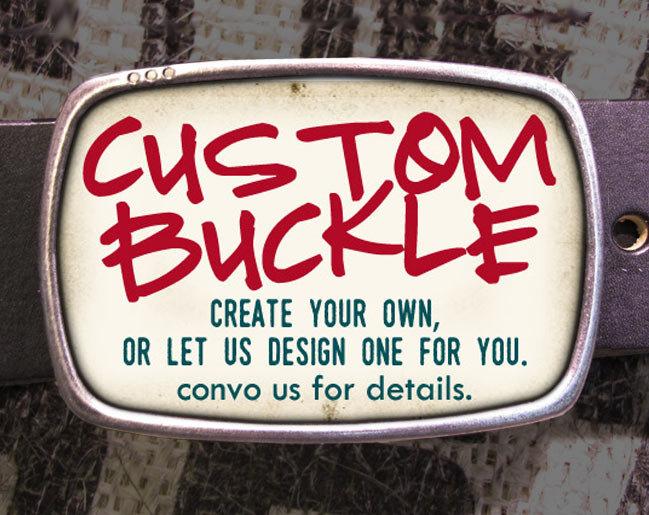 Custom Belt Buckle Regan Flegan