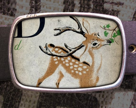 Deer Belt Buckle 518