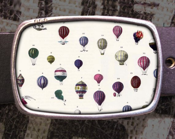 Hot Air Balloonfest Belt Buckle 709