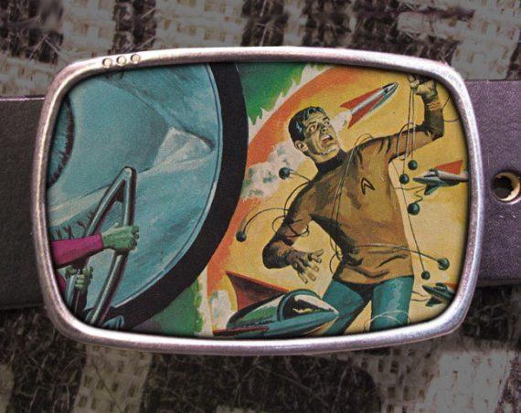 Star Trek Belt Buckle 742