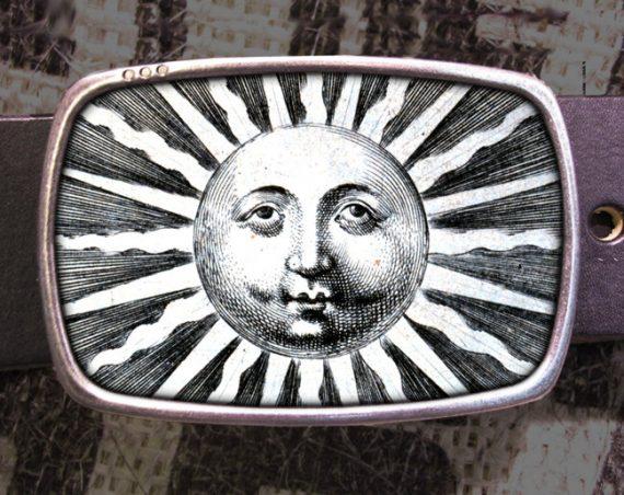 Sun Belt Buckle 711