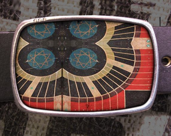 Vintage Parcheesi Game Board Belt Buckle A02